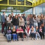 Ispred gimnazije Hannah-Arendt