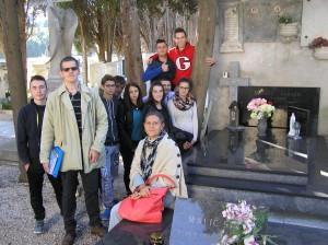 Na grobu Ambroza Haračića