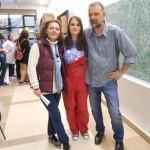 2.Prof. Lovorka, Ingrid Gregorović, studentica 4.god. PMF-a i naša bivša učenica i gosp. Nenad Judaš, profesor na PMF-u i kolega prof. Lovorke iz studentskih dana